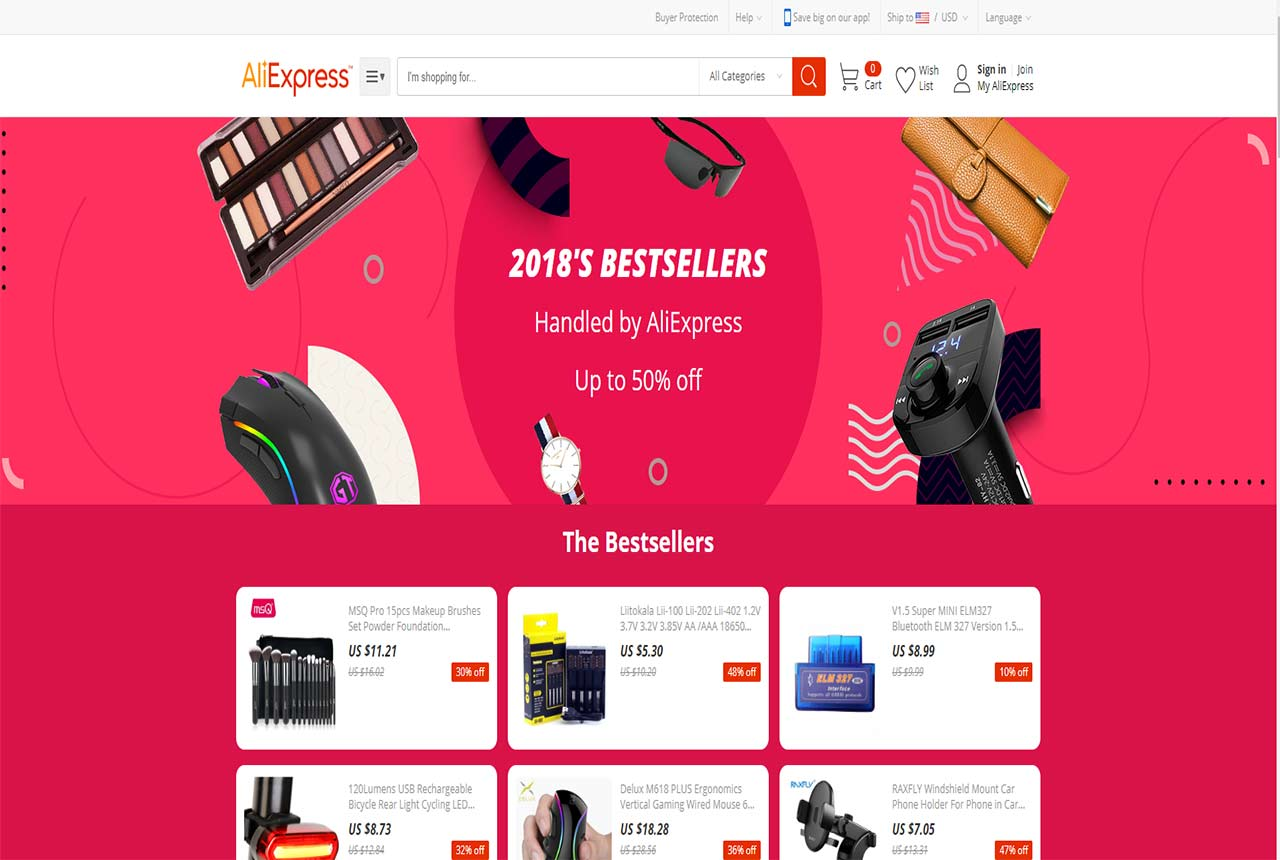 directly contact factories supplier of aliexpress